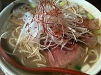ラーメン凪豚王、イノシシ煮干